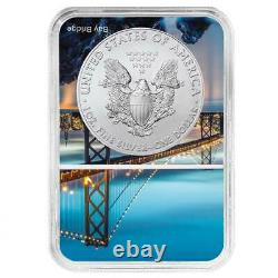 Presale 2021 (S) $1 American Silver Eagle NGC MS70 Emergency Production FDI Sa