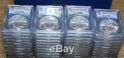 Qty. 39 2006 American Silver Eagles PCGS MS69 FIRST STRIKE with FLAG
