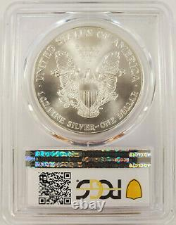Rare! 1995-P American 1oz Silver Eagle Perfect MS70 PCGS Only 91 in Total