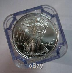 Roll X 20 2009 NGC GEM UNCIRCULATED American Eagle Silver Dollars MS-++