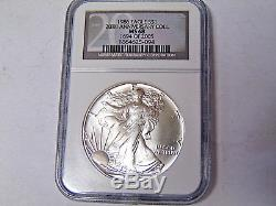 Set NGC MS68 American Silver Eagles 1986-2005 All 20 1 oz. 999 Silver Dollars